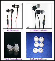 Uwater 100% Waterproof Earphones Limited Collection