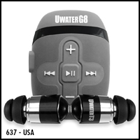 UwaterG8  100% Waterproof Action MP3 IPOD Player & Swim Buds