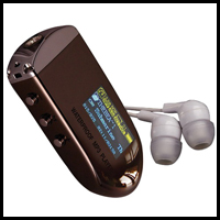 TEMPO G2                                                                            -100% Waterproof MP3 Player, FM Tuner & Earphones