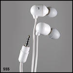 UwaterG2/G4 100% Waterproof Stereo Earphones  2.5mm Twist&Lock Jack (White)