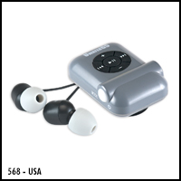 UWaterG5 Waterproof Swim MP3 & Radio Player