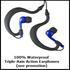 UWaterG4 Swim MP3 (Black/Blue) & Earphones & Buds 100% Waterproof