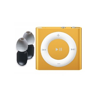 Waterproof Ipod Shuffle (Orange) Certified Refurbished